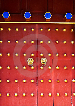 Red Door Stock Images - Image: 14873654