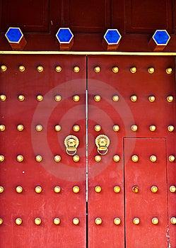 Red Door Stock Images - Image: 14873654