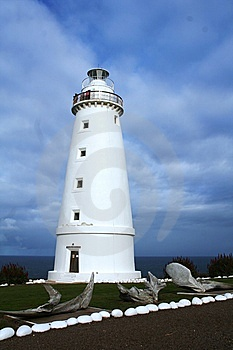 Cape Willoughby Lighthouse Royalty Free Stock Photo - Image: 14874085
