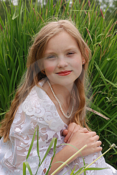 Portrait Of The Girl Stock Photography - Image: 14874802