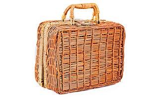 Basket Isolated On White Background Royalty Free Stock Images - Image: 14874849