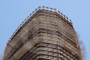 Concrete Building Construction Royalty Free Stock Images - Image: 14876409