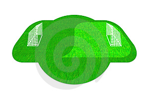 Wi-Fi Football Royalty Free Stock Image - Image: 14878176