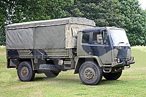 Military Lorry Royalty Free Stock Photography - Image: 14878787
