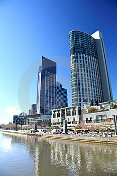 Melbourne Skyline Stock Photography - Image: 14878942