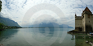 Switzerland - Chateau De Chillon On The Lake Leman Stock Photography - Image: 14879672
