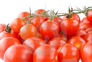 Shiny Cherry Tomatoes Royalty Free Stock Photo - Image: 14881845