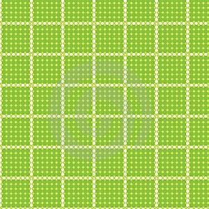 Seamless Pattern Circle Rectangle Tablecloth Stock Photos - Image: 14881923