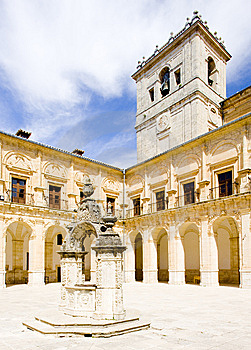 Monastery Of Ucles Stock Photography - Image: 14882252