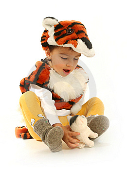 Little Boy In Fancy Dress Stock Photo - Image: 14882820