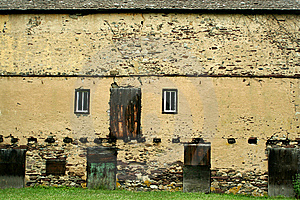 Exterior Of A Abandned Building Royalty Free Stock Image - Image: 14886046