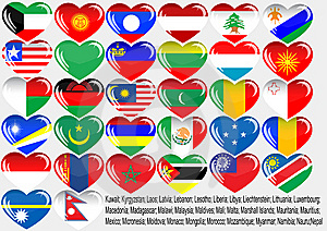 World_flag Royalty Free Stock Photo - Image: 14886305