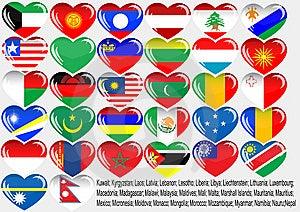 World_flag Royalty Free Stock Photo - Image: 14886305