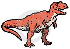 Tyrannosaurus Royalty Free Stock Photo - Image: 14886735