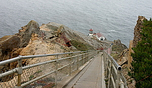 Point Reyes Lighthouse Descent Stock Photos - Image: 14889123