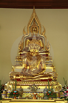 Second Lord Buddha. Royalty Free Stock Images - Image: 14890979
