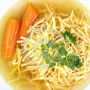 Chicken Soup Stock Images - Image: 14892844
