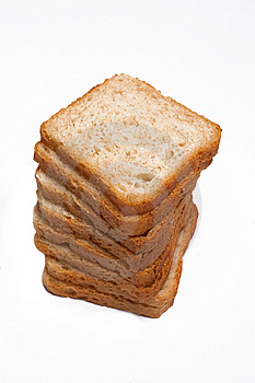 Slices Of White Bread Royalty Free Stock Images - Image: 14896709