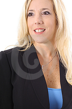 Executive Blonde In Business Suit Stock Photo - Image: 14897700