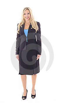 Attractive Business Woman Stock Image - Image: 14897751