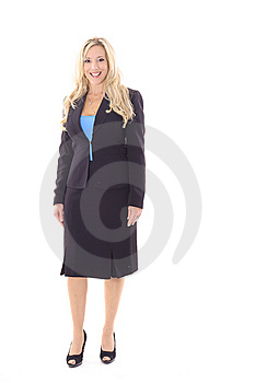Executive Business Woman In Suit Stock Photos - Image: 14897753