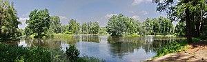 Panorama Summer Landscape Stock Image - Image: 14898021