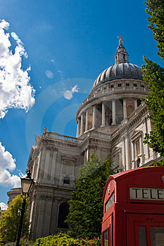 St Paul Cathedral Royalty Free Stock Photography - Image: 14898597