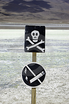 Danger Zone Stock Images - Image: 14899224