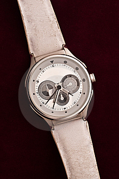 Used Silver Watch Stock Photo - Image: 14899240