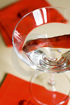 Martini With Chilli Royalty Free Stock Photo - Image: 1491255