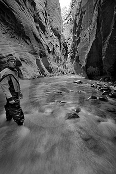 Canyon Self Portrait Royalty Free Stock Photos - Image: 1493728