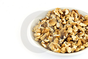 Shelled Nuts Royalty Free Stock Photo - Image: 1494335