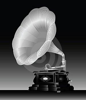 Gramophone. Royalty Free Stock Image - Image: 14900486