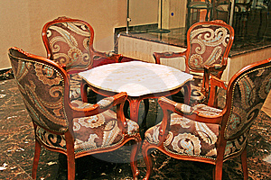 Table And Chairs Stock Photography - Image: 14901752