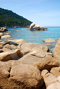 Rock,south Of Thailand Royalty Free Stock Photos - Image: 14904448