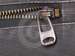 Metal Zipper Royalty Free Stock Photos - Image: 14904718