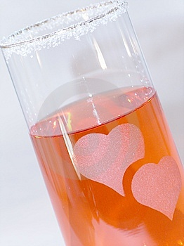 Heart Glass Royalty Free Stock Photography - Image: 14907457
