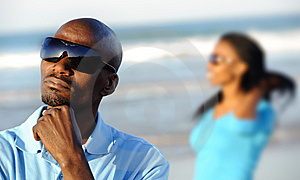 Thinking African Man Royalty Free Stock Image - Image: 14908006