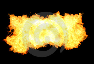 Fire Flames Background Stock Photos - Image: 14908603