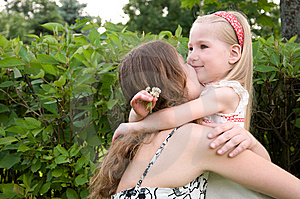 Happy Mother And Daughter Royalty Free Stock Photos - Image: 14908638