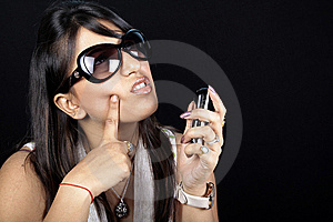 Thinking Girl Stock Photos - Image: 14909843