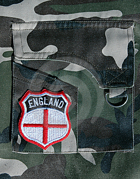 England Badge. Stock Photo - Image: 14910190