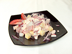 The Chef's Salad. Stock Photo - Image: 14910610