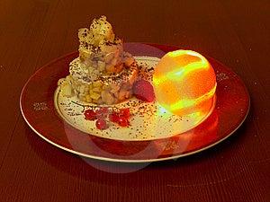 Tne Moon Setting Cake.  Royalty Free Stock Image - Image: 14910746