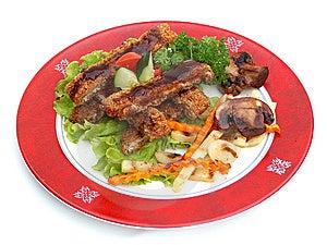 Pork In Tankazu Sauce. Stock Image - Image: 14910801