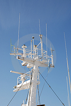 Ship's Navigation Instruments Tower Royalty Free Stock Photos - Image: 14912868