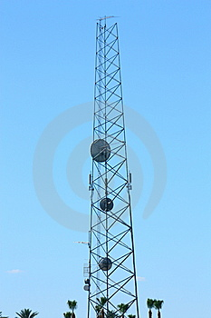 Communications Tower Stock Photography - Image: 14914442