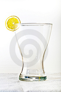 Glass With Lemon Royalty Free Stock Photo - Image: 14914745