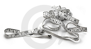 Measuring Tape Of The Tailor Royalty Free Stock Image - Image: 14914786
