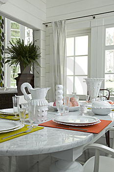 A Part Of Table Royalty Free Stock Images - Image: 14916509
